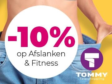 Tommy Teleshopping: exclusieve 10% kortingscode op afslanken en fitness